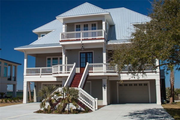 Custom Home, Pensacola Beach