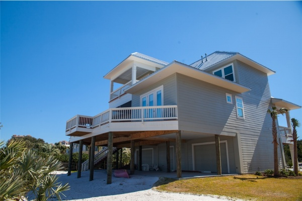 Pensacola custom home builder custom home pensacola beach for Custom beach house