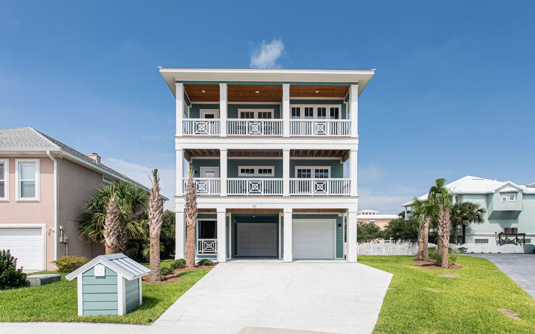 Custom Piling Home, Pensacola Beach